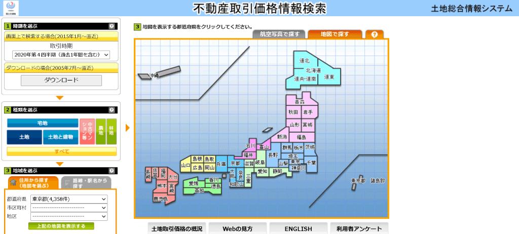 土地総合情報システム Land General Information System